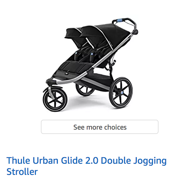 Thule Urban Double Jogger