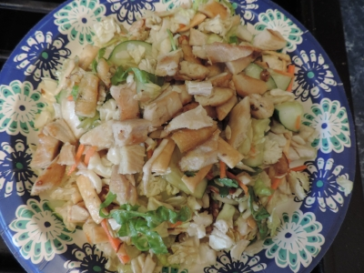 Meal 3 Asian Grilled Chicken Salad