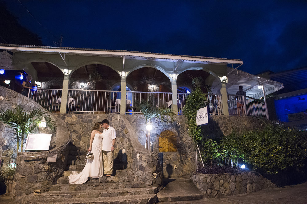 Weddings The Terrace St. John