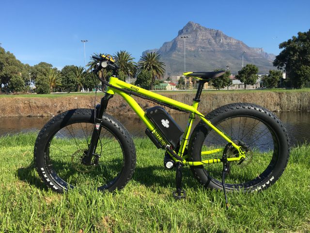 Cape Town - some people choose electric fat bike conversions because they just look so damn cool. And they are versatile in that they can be used for city coffee shop chilled rides or off-road in seriously rough terrain .