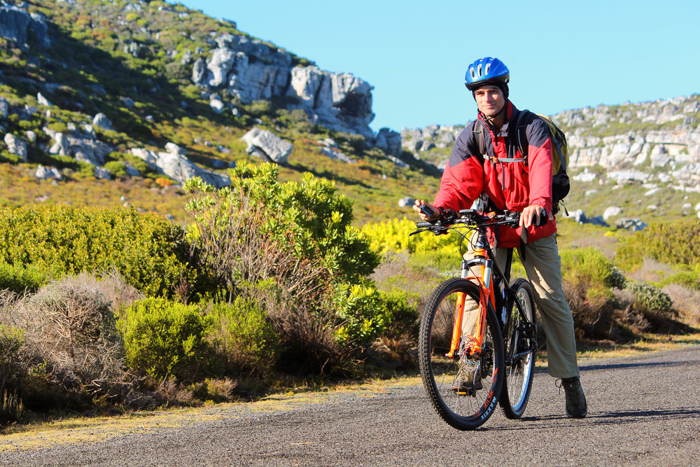 Cape Trekking E-bike Tours Nick Ashby Chilled Squirrel Cape Town