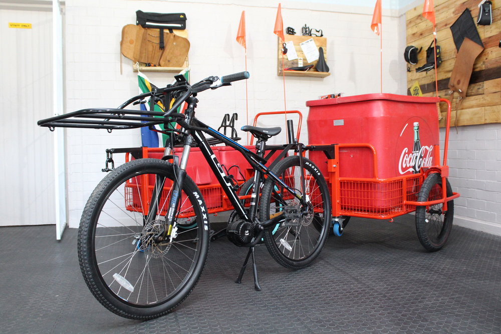 ELECTRIC BIKES DELIVERIES
