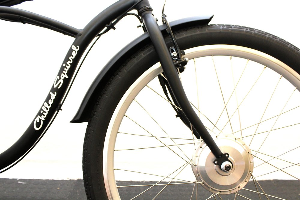 Front Hub electric bicycles.