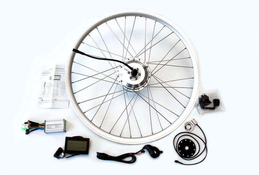 E-bike conversion kits for your bicycle.