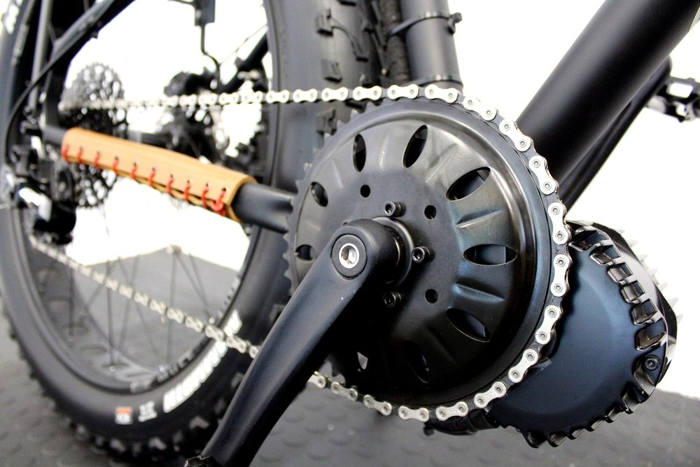 1000w Mid drive systems for fat bikes and MTB's.