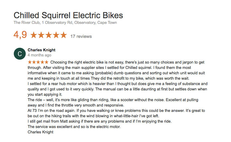 ELECTRICBICYCLEREVIEW