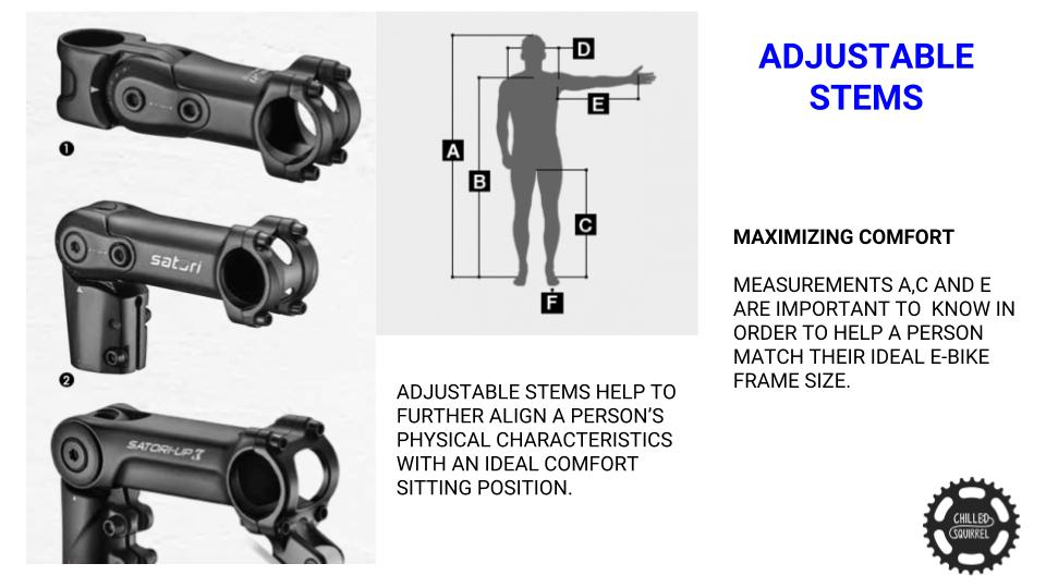 adjustable stems for bicycles electric