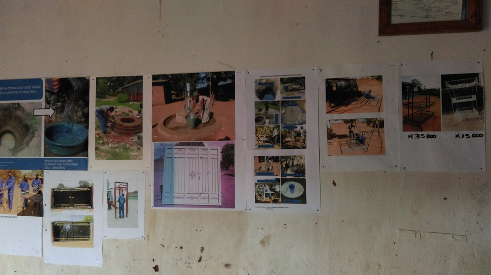 We developed a new market - We developed a market, using posters, catalogues and radio and newspaper adverts to promote and differentiate our entrepreneurs, emphasising the quality of their training and the economic benefits and convenience of having an agricultural or household pump.