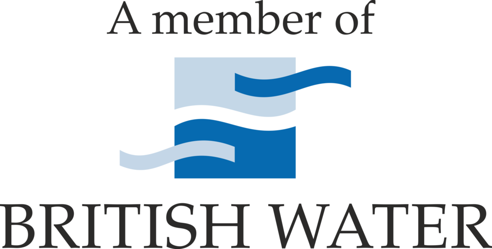 British Water membership logo for beyond water and award winning water charity