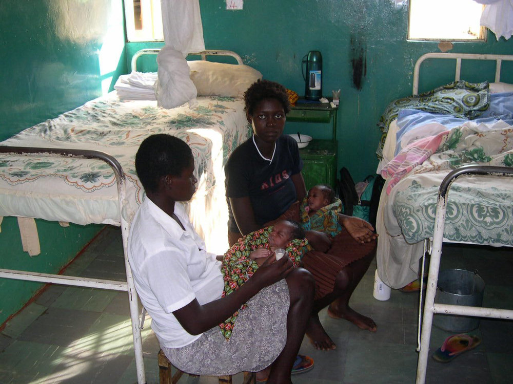 New mums at Sioma Clinic
