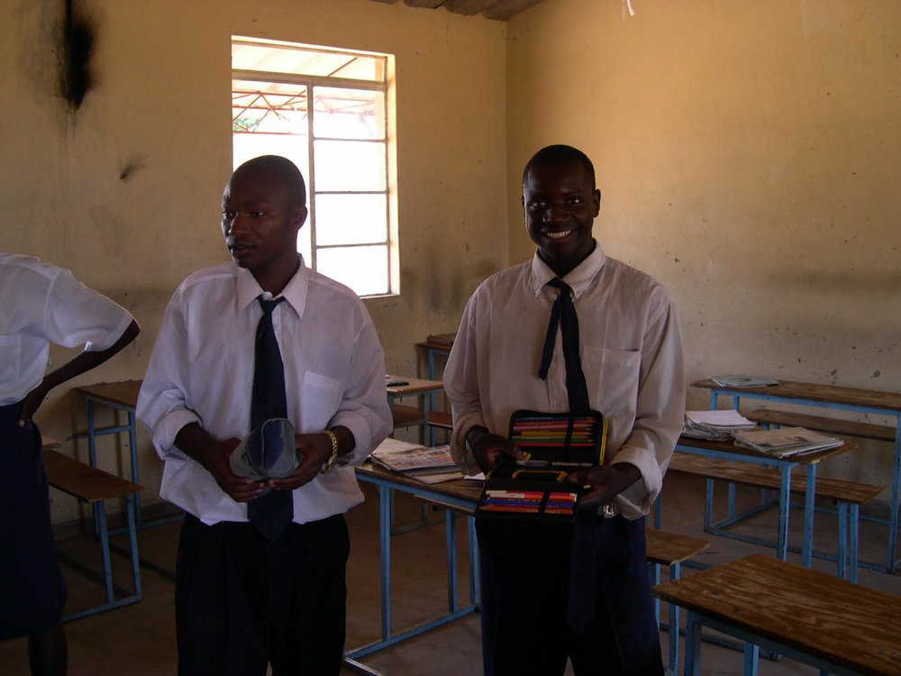 Students at Sioma High