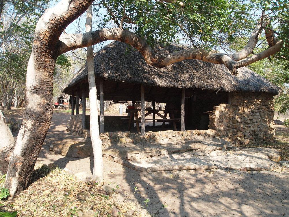 Central HQ hut