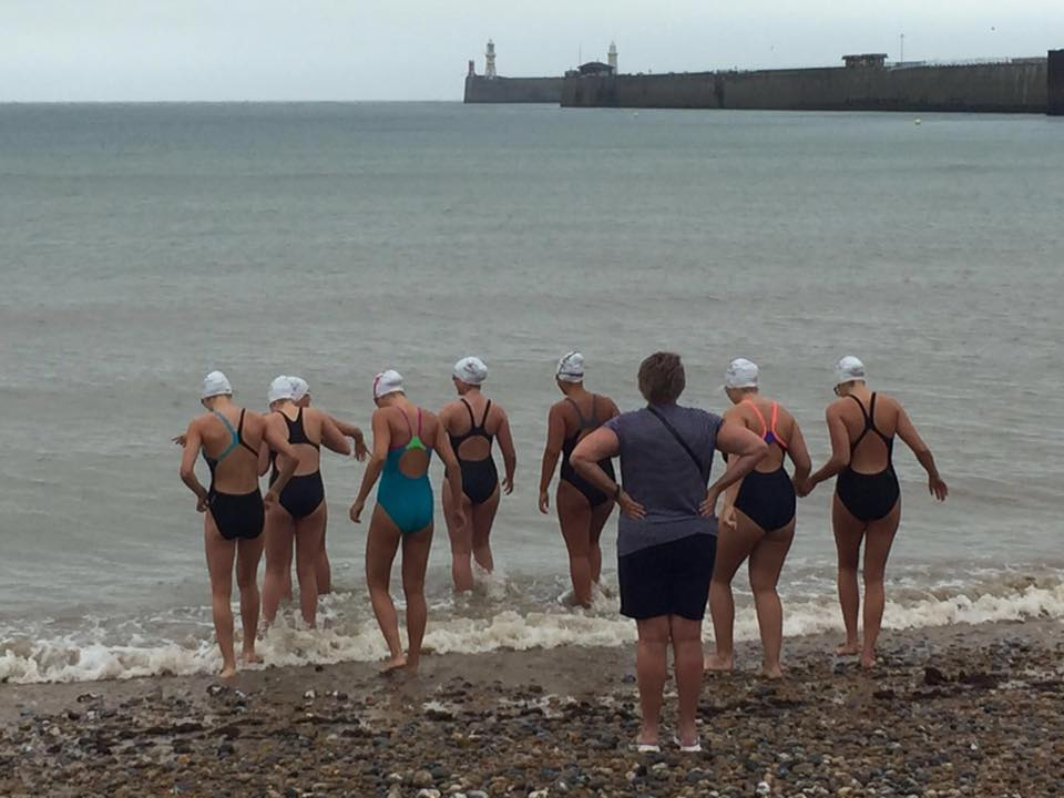 Leaving England to swim to France raising money for obstetric fistula correction Operations