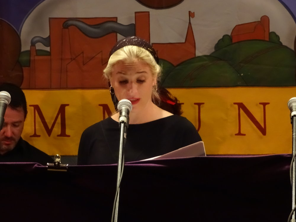 Benita sings Kiddin'.JPG