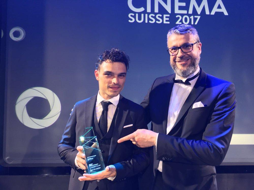 """Prix du Film Suisse 2017 pour """"La Femme et le TGV"""""""