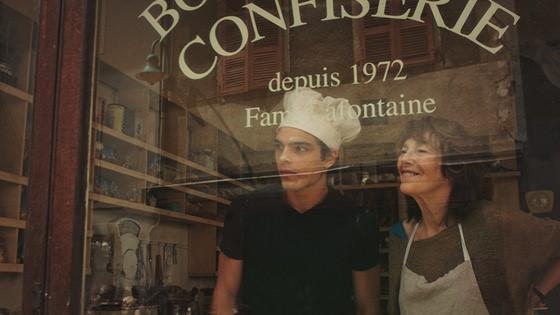 """Jacques dans """"La Femme et le TGV"""" aux côtés de Jane Birkin"""