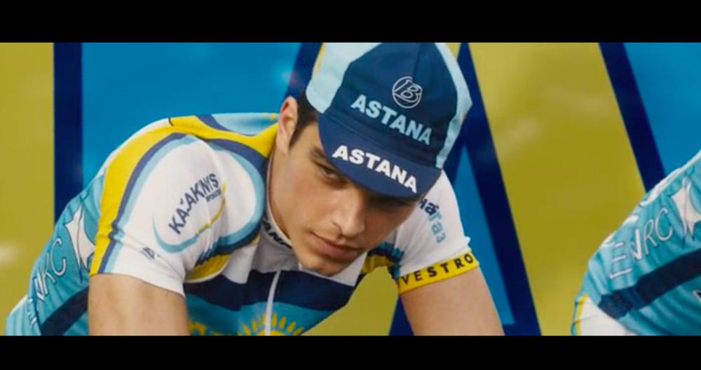 """Alberto Contador dans le film """"The Program"""" réalisé par Stephen Frears"""