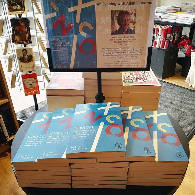 Cinico at Waterstones