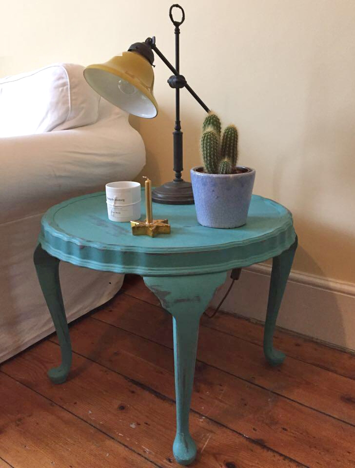 """Loved by... Britt in Molesey  """"I love my Winter Bear Home coffee table. It brightens up my living room and makes me happy!"""""""