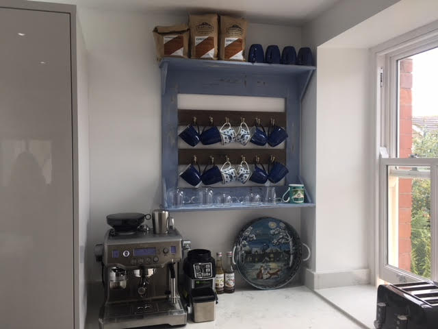 """Loved by… Zaid & Anwen in Colwyn Bay   """"I just wanted to say how lovely it was to meet you guys…We finally had time to put up the cup holder and we love it."""""""