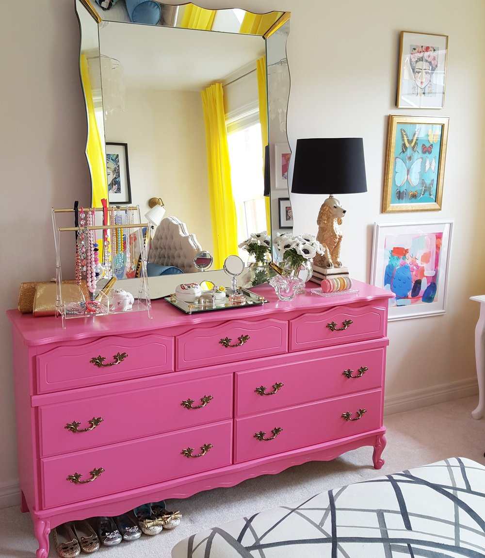 2017 Spring One Room Challenge: Lily's Room | Carley Brandon Designs