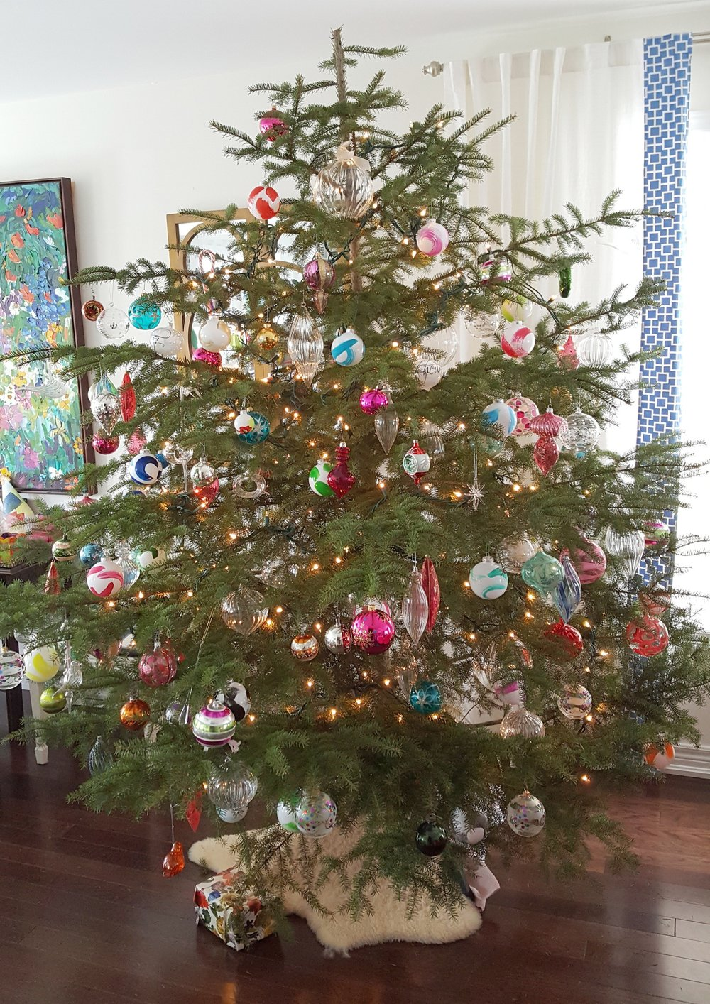our wildly wonderful tree