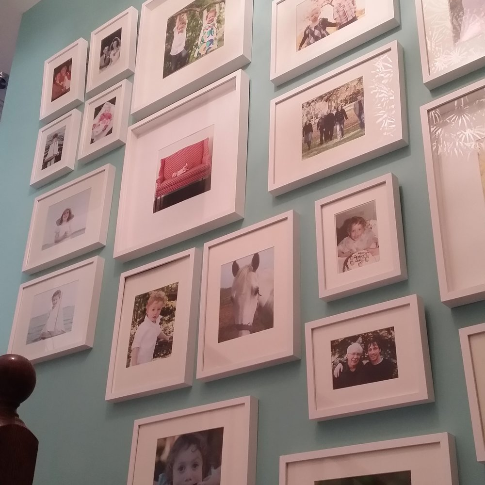 Our family gallery wall