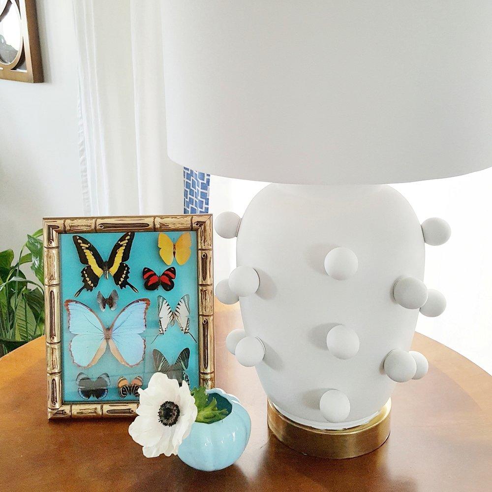 Our DIY Kelly Wearstler Inspired lamp