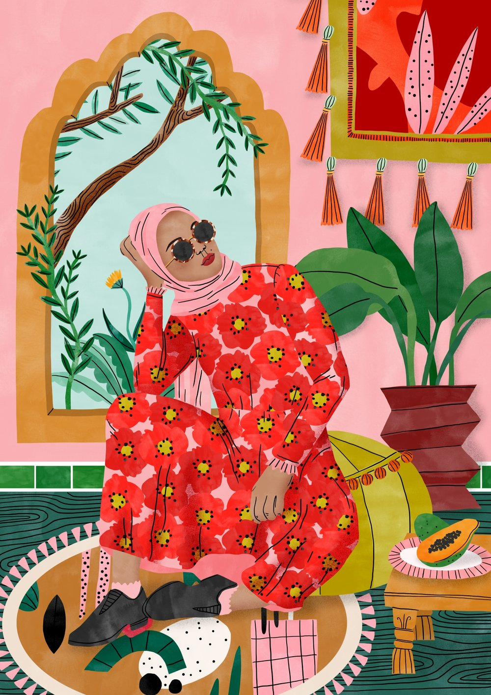 Bodil-Jane-Folio-Illustration-Moroccan-Dreams-Girl-Pattern-Interior-1500x2122.jpg