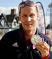 "Sascha Kindred   World and Paralympic Champion   ""Level Water is building the Paralympic Legacy that we so badly need.  Support Level Water and you can create our next generation of Paralympians."""