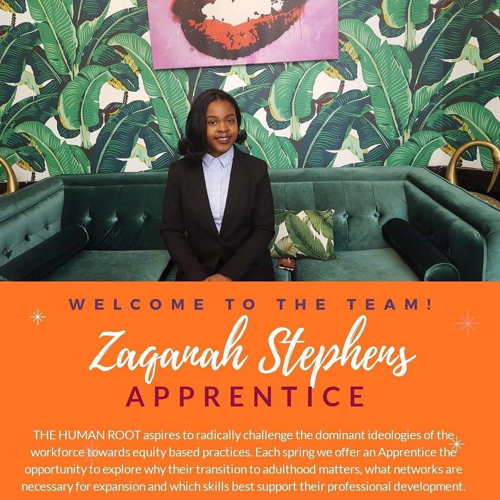 ZAQANAH STEPHENS   2018-2018 APPRENTICE