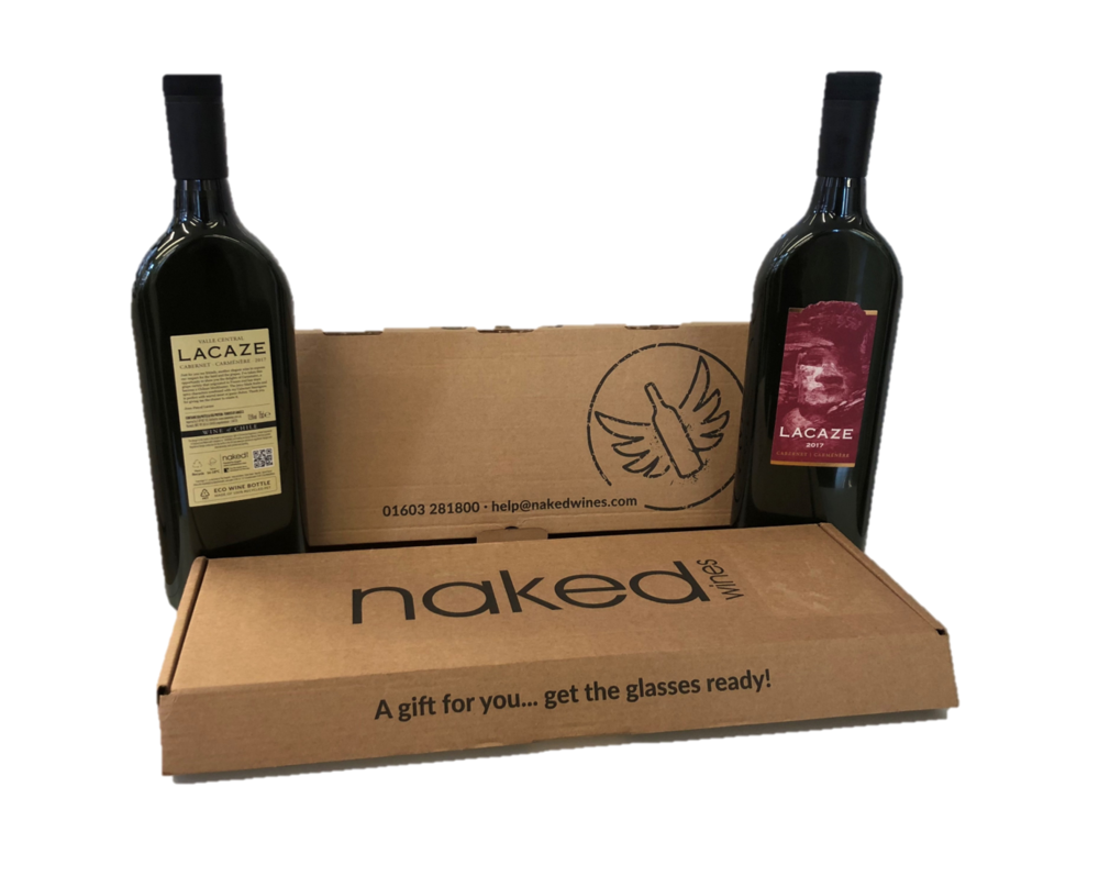 Naked Wines - Our innovative, eco-friendly bottles are now being used by Naked Wines, the fast-growing online wine retailer and crowdfunding group for small, talented winemakers.
