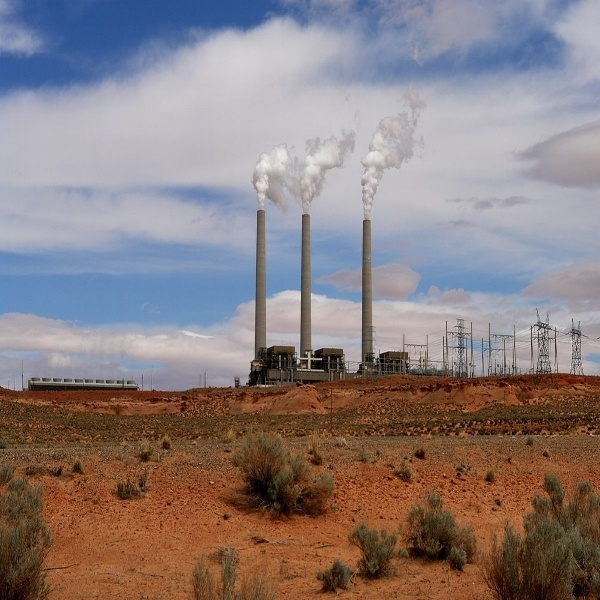 Navajo Power Generating Station, supplied by Arizona's only coal mine, Kayenta
