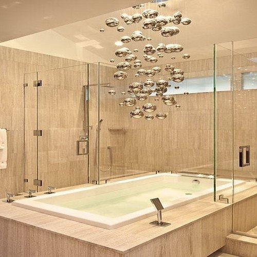 Small Bathroom Lighting — Wolfe Valley Electric | Gilbert, AZ ...
