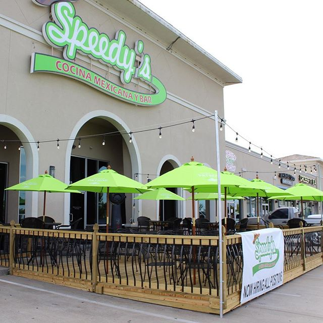 That's right folks! Our Broken Arrow location now has a patio! Come on down and check it out. The drinks are cold and the food is good! 😎 #Speedys #speedysislife #brokenarrow #tulsa #tulsaoklahoma #patio #patiolife #mexicanfood #tacos #tulsaeats #tulsafood #margaritas