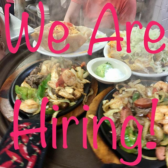 We are looking to grow our family!! So come on in and fill out an application! Now hiring hosts, servers, bartenders and cooks! That's right...all positions, both locations!!! 🙀🙀🙀 #Speedys #speedysislife #glenpool #brokenarrow #tulsa #tulsaoklahoma #tulsafood #tulsaeats #mexicanfood #margaritas #tacos #hiring #joinourteam