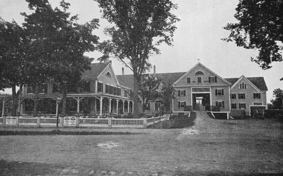 Wolfeboro NH Historic Pickering House homestead