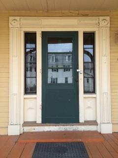 Pickering House Greek Revival door frame
