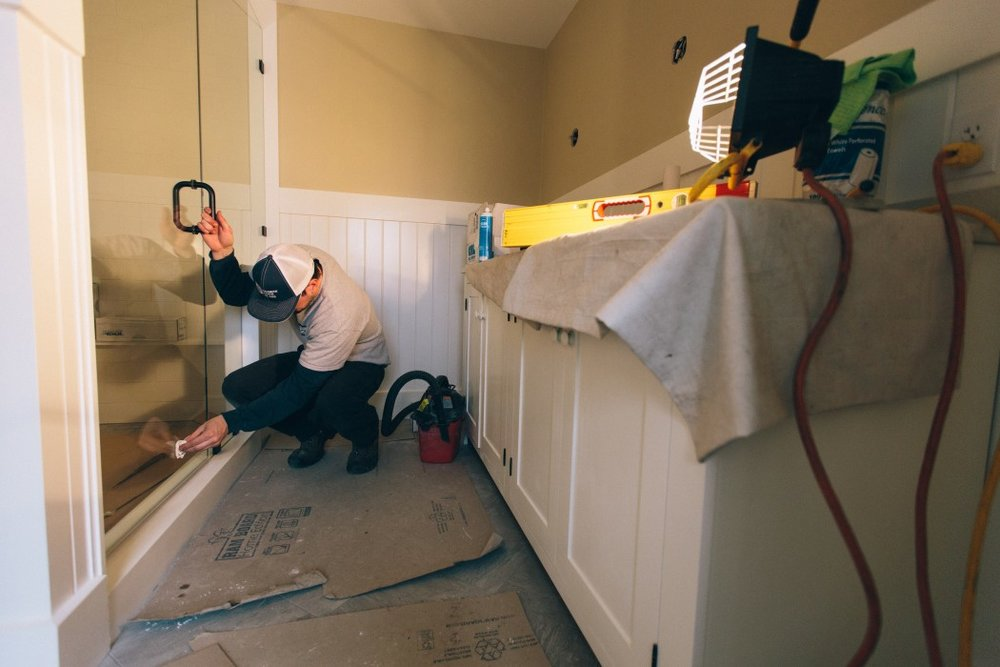 Bathroom renovation Pickering House Inn