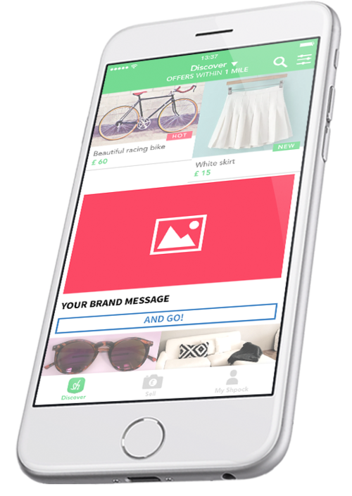Mobile Ad Format - Native Ad Discover Screen