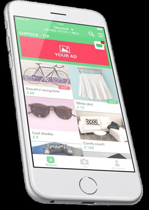 Mobile Ad Format - Shpock Tip