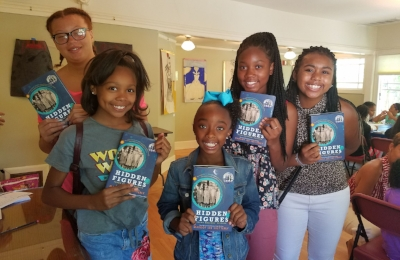 Sacramento chapter Summer Girls Book Club with Hidden Figures