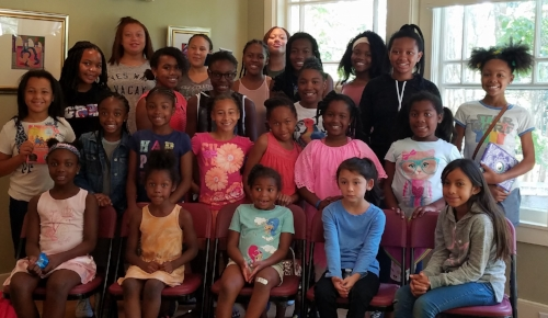 Sacramento chapter Summer Girls Book Club in August