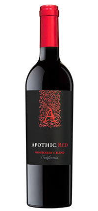 Apothic Crush Red Blend  , $8 - $15  This rich, soft wine has red fruit flavors and hints of caramel for a luscious, yet velvety experience. A blend of Petite Syrah and Pinot Noir.