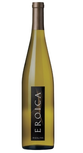 Eroica Riesling  , $15 - $237  Very pleasant aroma of lime, green apple, tangerine and a bit of a chalky note. A perfect match with spicy Asian or Indian food. It ends off-dry with a long, mouthwatering finish.