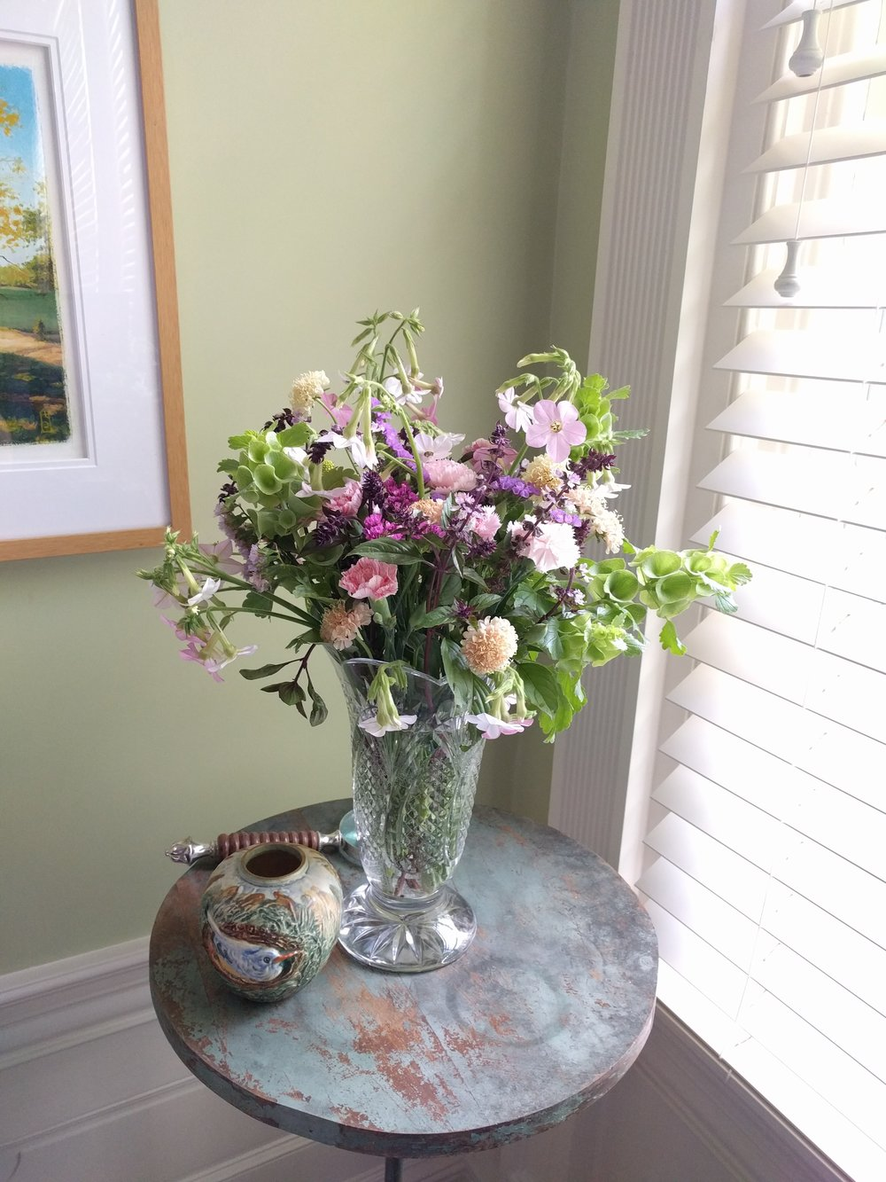 Need a beautiful, fresh, unique, locally-grown bouquet for a friend, loved one or yourself? We are happy to deliver one for you! Please  contact us  for more information and pricing.