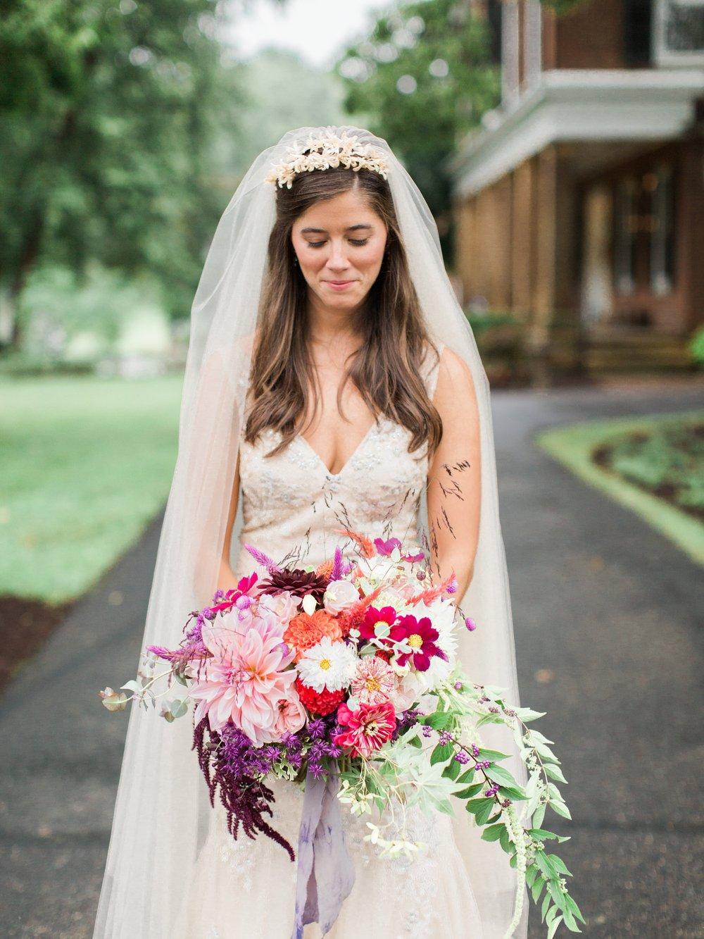 Jenny's bridal bouquet