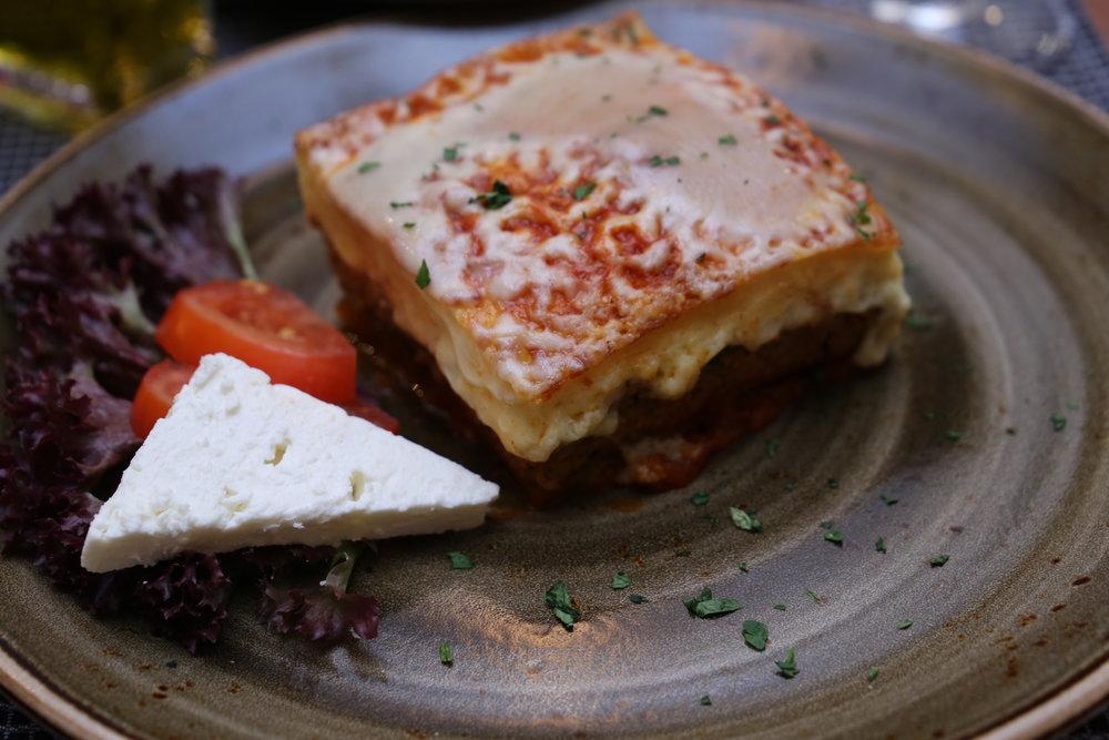 Irodion Restaurant Wien Mousaka
