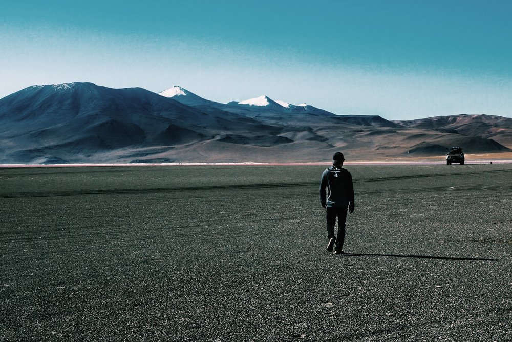 High Altitude exploration in Bolivia.