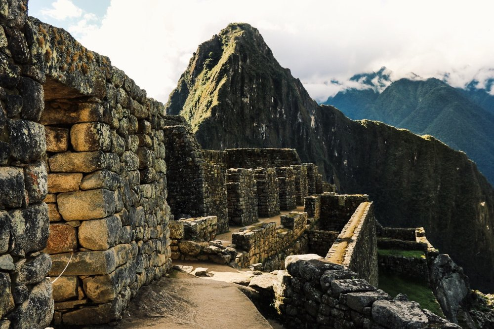 The perfectly placed stones of Machu Picchu